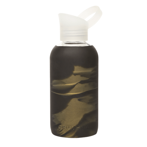 CHUCHKA LUXE GLASS WATER BOTTLE