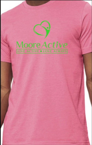 Moore Active Exclusive Unisex Tshirt