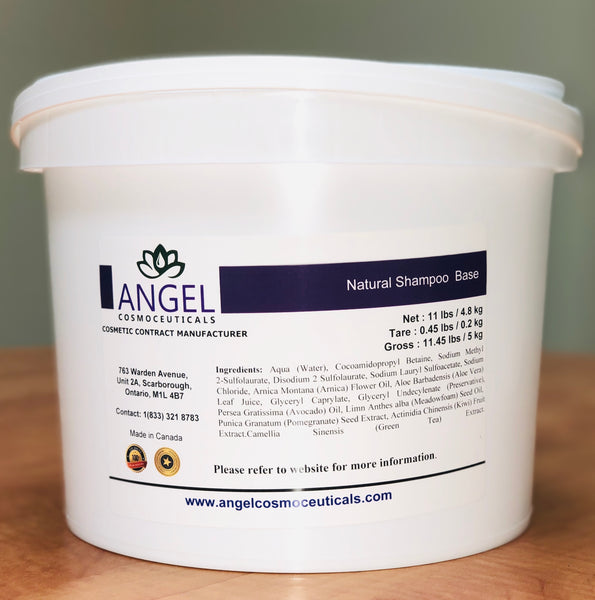 Natural Shampoo Base - Angel-Cosmoceuticals
