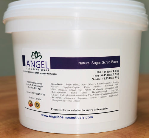 Natural Sugar Scrub Base
