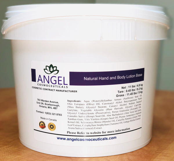 Natural Hand & Body Lotion Base - Angel-Cosmoceuticals