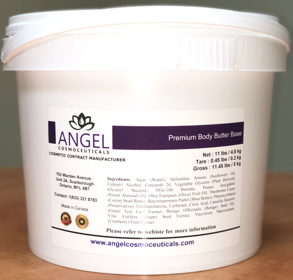 Premium Body Butter Base - Angel-Cosmoceuticals