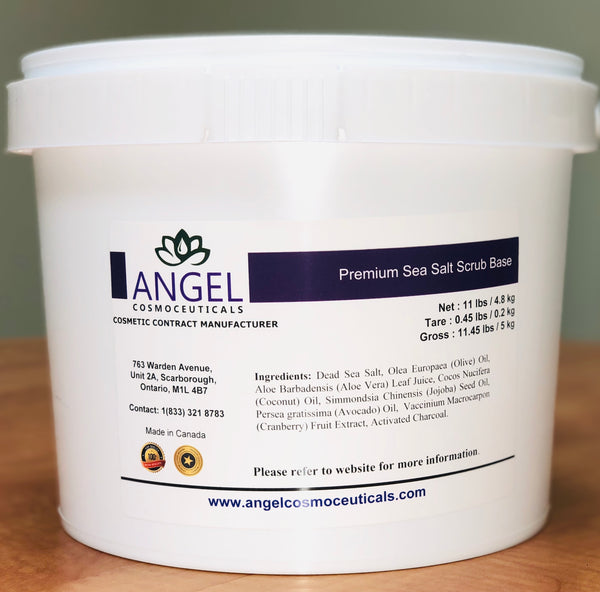 Premium Sea Salt Scrub Base - Angel-Cosmoceuticals