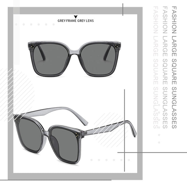 Fashion Large Square Sunglasses