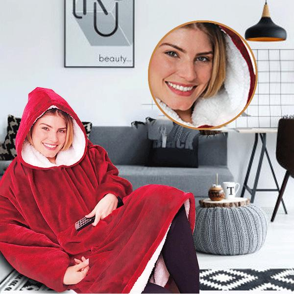Hooded Fleece Warmer