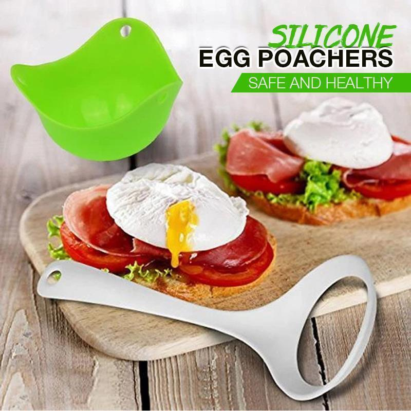 Mother's Day Promotion Silicone Egg Poachers(2pcs)