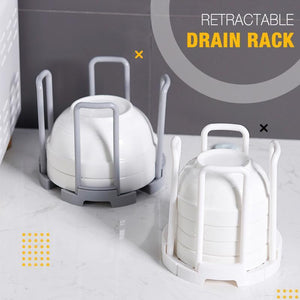 Retractable Drain Rack