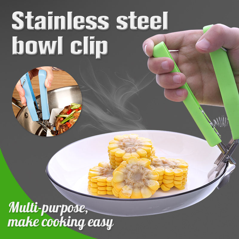 Stainless Steel Bowl Clip
