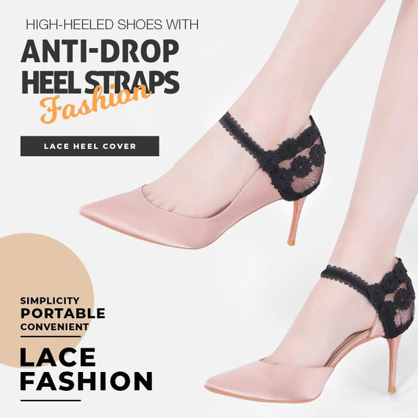 High-Heeled Shoes With Anti-drop Heel Straps(A pair)