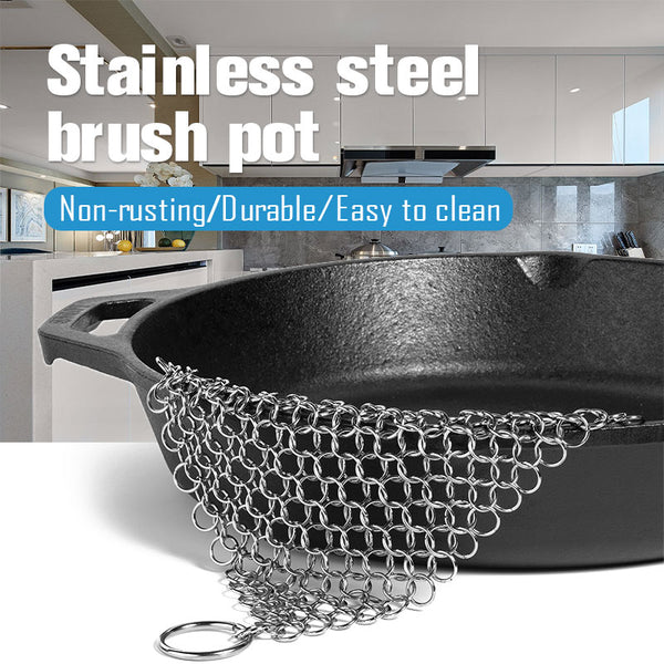 Stainless Steel Brush Pot