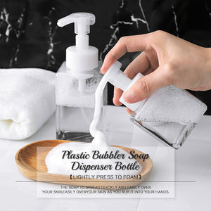 Plastic Bubbler Soap Dispenser Bottle