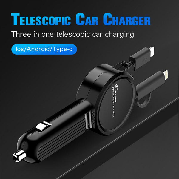 Telescopic car charger