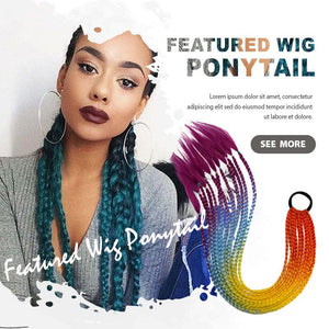 Featured Wig Ponytail