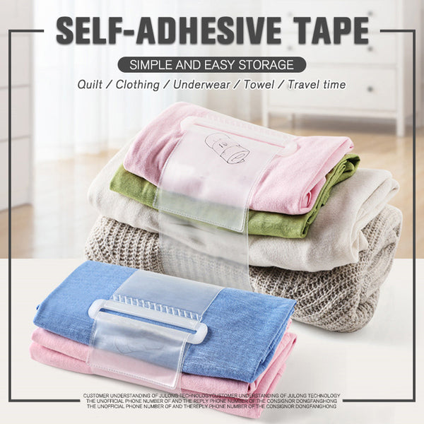 Self-adhesive Household Shirt Pants Storage Roll Bande