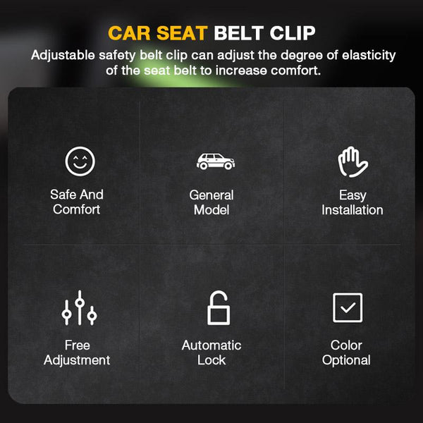 Safety Belt Clip(One Pair)