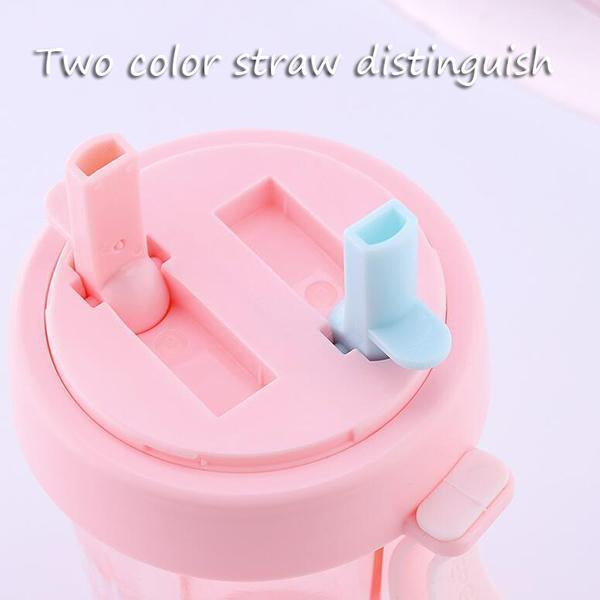 Double Straw Cup