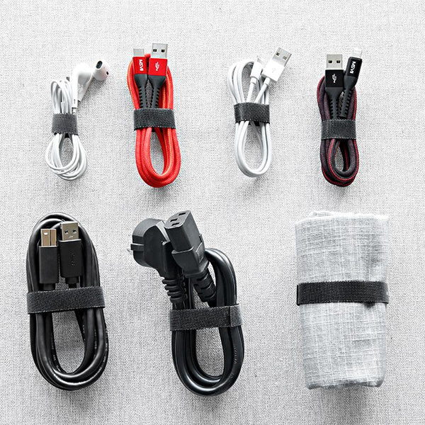 Data Cable Storage Buckle Velcro