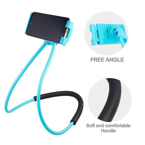 Hanging on Neck Cell Phone Mount Holder