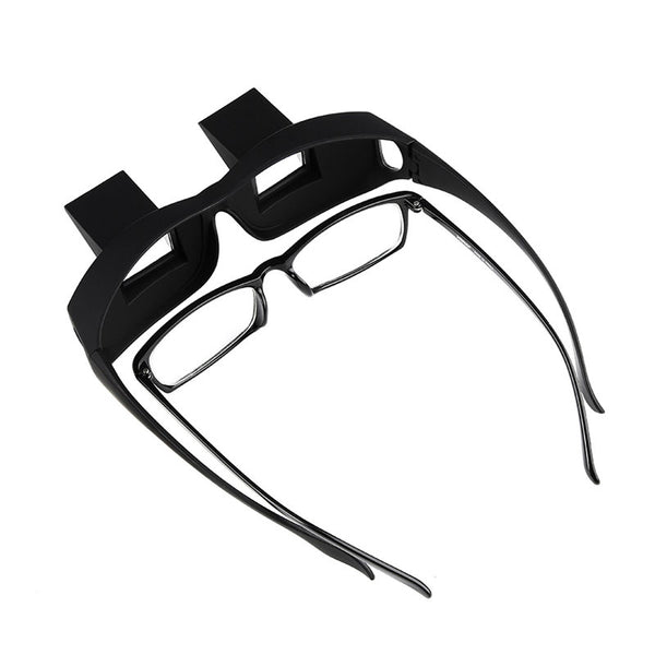 Horizontal Prism Angled Glasses