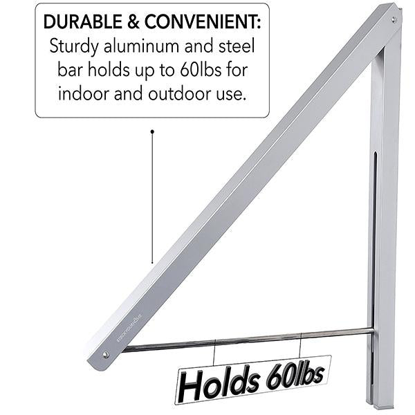 Retractable Folding Wall Hanger