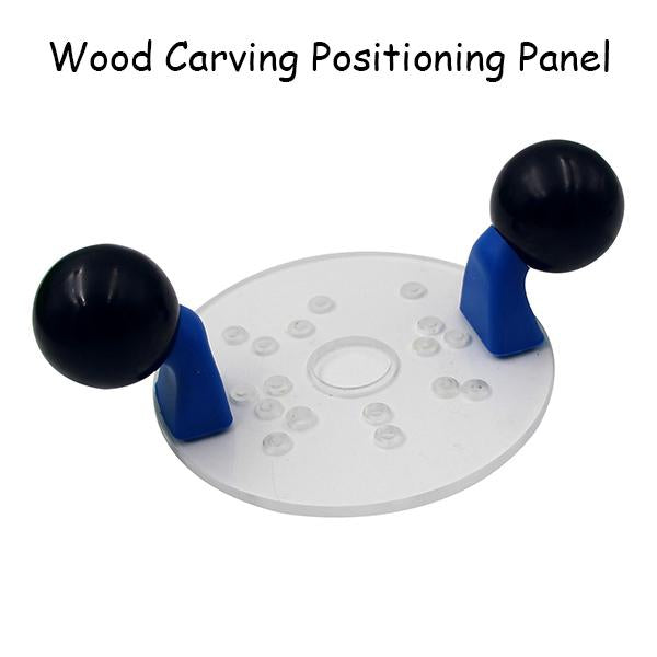 Wood Carving Positioning Panel