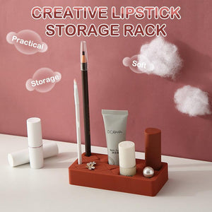 Long Section Creative Lipstick Storage Rack