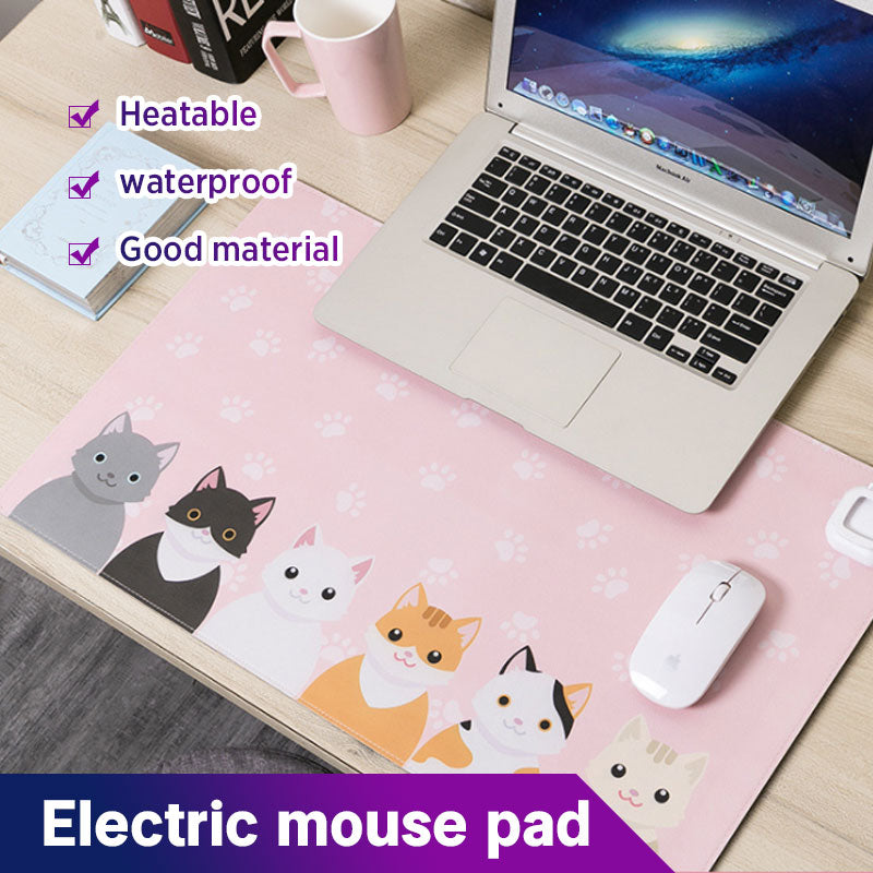 Electric mouse pad
