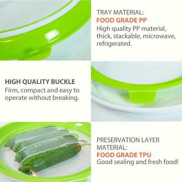 Creative Food Preservation Tray