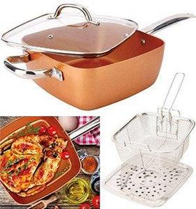 AMAZING NON STICK COPPER PAN