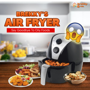 BREKKY™ Authentic Air Fryer [220 Volts]