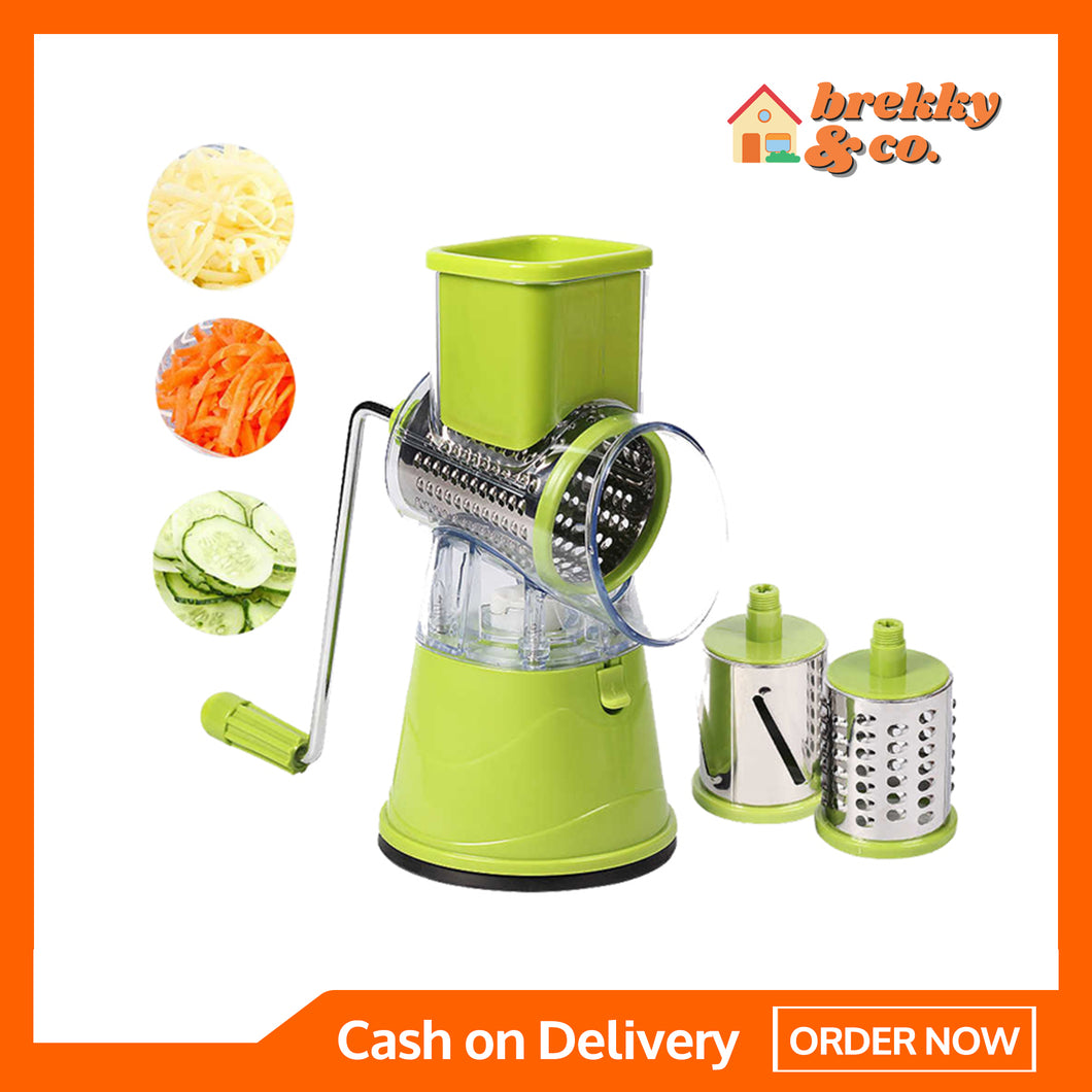 BREKKY™ Tabletop Drum Grater