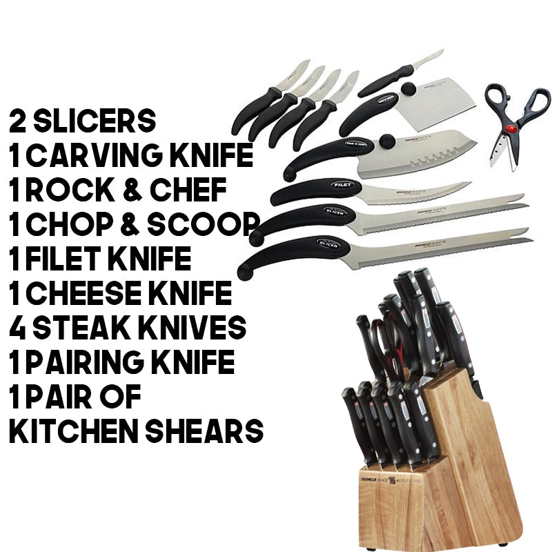 Brekky's 13-Piece Knife Set