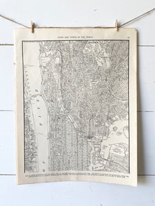 Upper Manhattan and the Bronx, New York Map