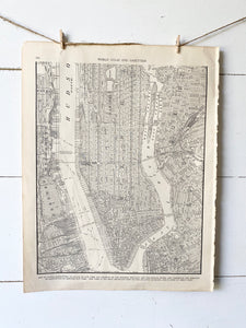 Lower Manhattan, New York Map