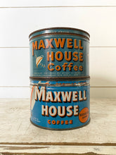 Load image into Gallery viewer, Coffee Can, Maxwell House