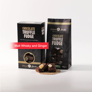 Malt Whisky & Ginger Fudge