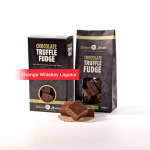 Orange Whisky Liquor Fudge