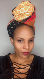 Patchwork Headwrap