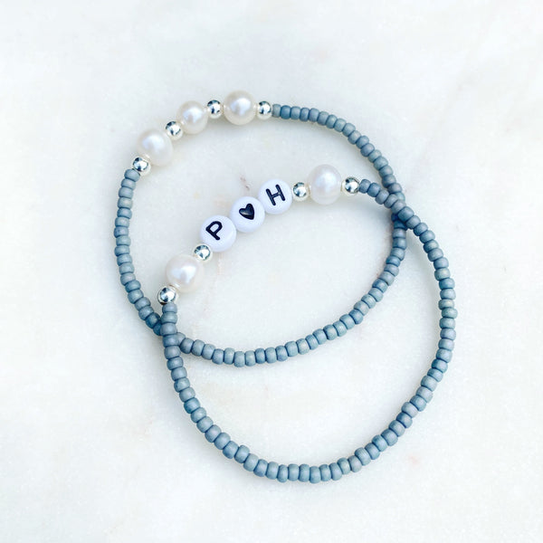 'Power of Three' Pearl Bracelet