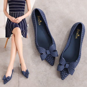 Roman Sandals Hollow Female Online Hot Fairy Style Waterproof Flat Shoes