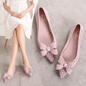 Roman Sandals Hollow Female Online Hot Fairy Style Waterproof Flat Shoes     222