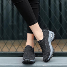 Load image into Gallery viewer, Women's Spring&Summer Breathable Woven Hollow Air Cushion Sneakers