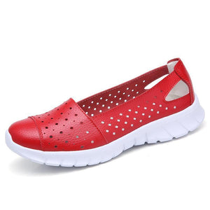 Women Spring Summer Hollow Single  Flat Shoes
