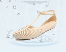 Load image into Gallery viewer, Women Fragrant Summer PVC Gladiator Jelly Shoes Flats Sandals Holiday Soft Shoes