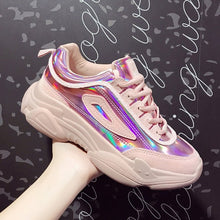 Load image into Gallery viewer, Women Allochromatic Thick Platform Fashion Girls Casual Sneakers