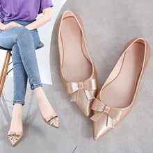 Load image into Gallery viewer, 2020 Summer Woman Pointed Toe Transparent Flat Shoes