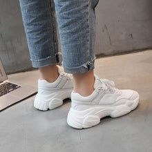 Load image into Gallery viewer, Women Anti Skid Waterproof PU Casual Sneakers Girls Running Shoes
