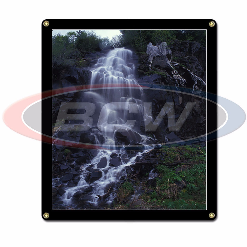 "Screwdown Display Frame 8"" x 10"" with Black Border - Screwdown Display Frames - BCW - hobbymasterstore"