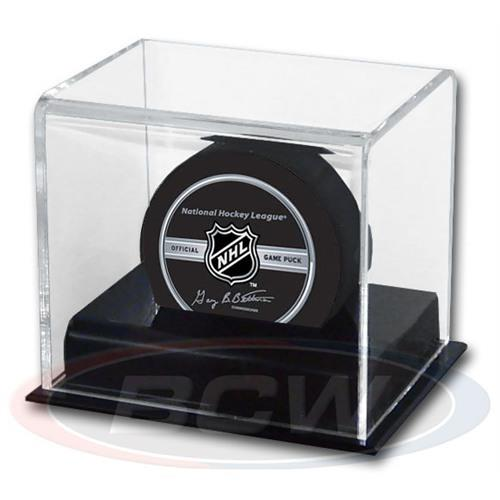 BCW Deluxe Acrylic Hockey Puck Display Case 1-AD11 - Sports display cases - hobbymasterstore - hobbymasterstore