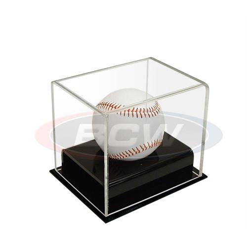 BCW Deluxe Acrylic Baseball Display Case 1-AD12 - Sports display cases - hobbymasterstore - hobbymasterstore